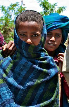 Kids in the Washa village, Amhara region, northern Ethiopia. © Miikka Järvinen 2010