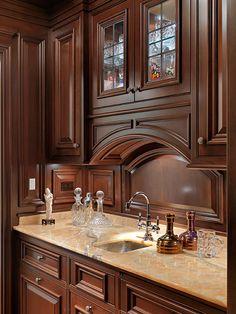 Kitchen Pantry Design, Luxury Kitchen Design, Interior Design Kitchen, Kitchen Decor, Kitchen Cabinets Drawing, Kitchen Cabinet Styles, Kitchen Trends, Cuisines Design, Bars For Home
