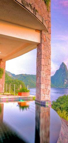Jade Mountain, St. Lucia.