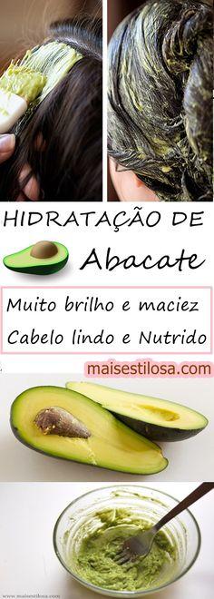 Hidratação caseira de abacate: Adeus cabelos ressecados e danificados.