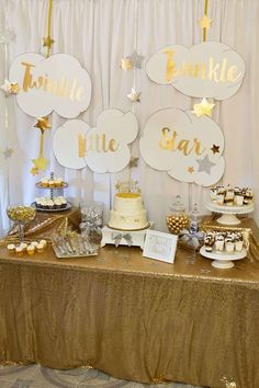 Twinkle Little Star Baby Shower Party Ideas | Photo 1 of 21