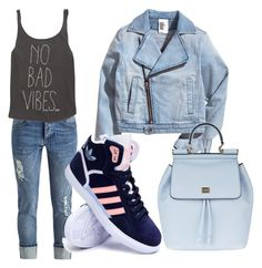 """Denim"" by melady0202 on Polyvore featuring Billabong, adidas и Dolce&Gabbana"