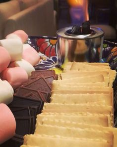 """Holidays time!  Enjoying these delicious S'mores  #dessert #smores #sweet #treat #snack #privatechef #slowfood #comfortfood #appetizer…"""" Private Chef, Slow Food, Holiday Time, Comfortfood, Sweet Treats, Appetizers, Snacks, Holidays, Desserts"""