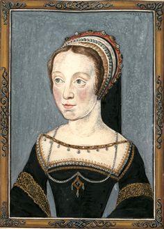 Jacqueline de Rohan, marquise de Rothelin (Gaignières 995) -- Dessin de peinture, Fonds Gaignières [BNF Bouchot 995] -- «Jaqueline de Rohan, marquise de Rothelin - Copie sur son portrait original, peint par Corneille dans le Cabinet de Mr de Gaignieres.»