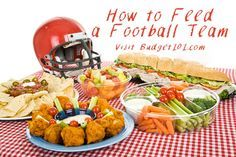 Feed a Football Team! For feeding hungry teenagers in America on a budget, this is a handy tip sheet. QUOTED: 1. It Needs to be Fast -they often need to eat fast & most parents don't have a lot of extra time to spend preparing the dish. 2. It needs to be Filling- self explanatory. 3. It needs to be Affordable- nothing says budget drain like feeding 75+ Teenagers with seemingly hollow legs.