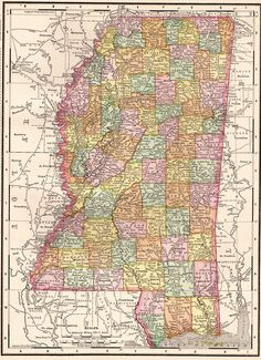 Vintage atlanta map 1924 atlanta in the 20s pinterest city 1900 antique mississippi map of mississippi state map print vintage original mississippi map collector gift for sciox Gallery