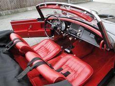 BMW 507 Interrior