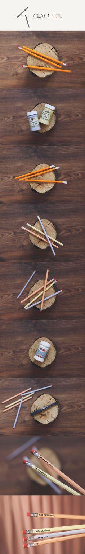 Ceruzky a slová / DIY