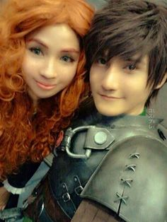this is a really good cosplay, however I DON'T AGREE WITH MARIDA AND HICCUP BEING A THING. Astrid and Hiccup belong together or there wouldn't be a movie