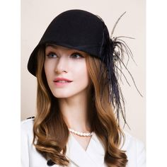 26.4$  Buy here - http://diskw.justgood.pw/go.php?t=198586601 - Casual Long Feathers Rhinestone Flower Fedora 26.4$