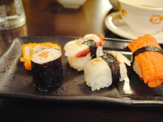 Does it count as German food if it's sushi in Germany? Asia Lounge; Pirmasens, Germany; germanyja.com