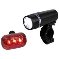 #amazon BV Bicycle Light Set Super Bright 5 LED Headlight, 3 LED Taillight, Quick-Release - $8.69 (save 57%) #bv #bikepakusa #sports