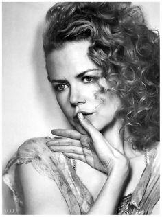 Nicole Kidman by Irwing Penn