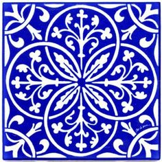 FLEUR-DE-LIS & LEAVES RENAISSANCE TILE - WALL PLAQUE - TRIVET RT-8