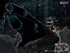 Space Battleship Yamato Resurrection Wallpaper. One of my favorite movies from one my all-time favorite anime series.