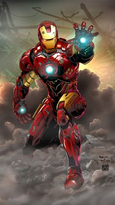 Iron Man by jasonbaroody on DeviantArt Iron Man Avengers, The Avengers, Marvel Comics Art, Marvel Vs, Marvel Heroes, Iron Man Kunst, Iron Man Art, Comic Book Heroes, Comic Books Art