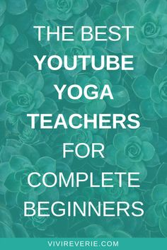 Discover the BEST YouTube yoga teachers for beginners! This post in our beginner yoga series is another look into YouTube yoga for beginners. If you want to start yoga at home, it's super important to find a yoga teacher that you can truly connect with and who will support you in your yoga practice the way that YOU need. This blog series is all about how to start yoga at home for beginners - and this third part of the series covers the best yoga teachers for beginners. Yoga tips for…