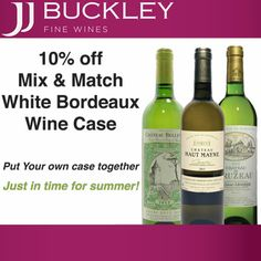 10% off white bordeaux