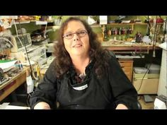 Flat Square Edges on Sheet Metal   Jewelry Tips with Nancy - YouTube