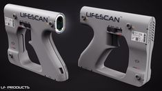 LifeScanner Concept Design by EdonGuraziu on DeviantArt Sci Fi Weapons, Weapon Concept Art, Fantasy Weapons, Bio Space, Cyberpunk, Nerf, Future Weapons, Lethal Weapon, Futuristic Technology