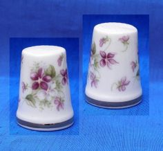 Royal Albert RARE Flower Set Thimble Violets   eBay /  Jan 23, 2014 / GBP 28.00