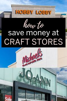 If you like shopping at Michaels, Hobby Lobby or JOANN, you'll love these genius ways to save money at craft stores. Get tips and tricks to save money! Ways To Save Money, Money Tips, Money Saving Tips, Birthday Coupons, Military Discounts, Backyard Games, Activity Days, Budgeting Tips, Shopping Hacks