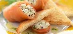 Philadelphia Rotolini di salmone affumicato e polpa di granchio
