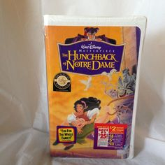 Disney The Hunchback of Notre Dame (VHS, 1997 clam shell) Masterpiece Collection