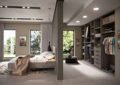 Bedroom Setup, Wardrobe Design Bedroom, Bedroom Layouts, Home Decor Bedroom, Home Room Design, Home Interior Design, House Design, Dressing Room Design, Modern Master Bedroom
