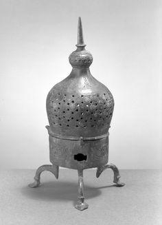 Incense Burner Medium: Bronze, incised and openwork decoration Dates: 12th century