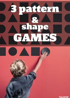 Pattern and sequence games to teach your child math basics.
