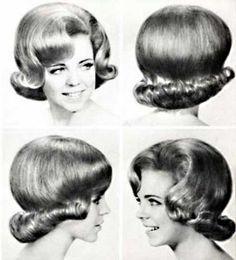 coiffure femme annee 60