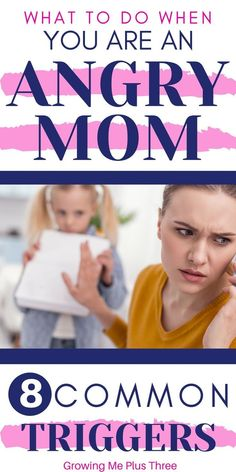 Read to see if these 8 triggers are causing you to be an angry mom and what you can do about it in order to be the mother you want to be. Mindful Parenting, Gentle Parenting, Parenting Articles, Parenting Hacks, Love Languages For Kids, Practical Parenting, Maila, Parenting Toddlers, Happy Mom