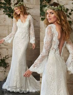 Today's Friday Favorite is a sneak peek from our Desiree Hartsock with Maggie Sottero collection. See more of this bohemian wedding dress on our blog!