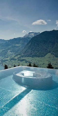 Hotel villa Honegg is a haven with fabulous views onto a breathtaking scenery across Lake Lucerne. The Villa Honegg is a unique superior Places Around The World, The Places Youll Go, Places To See, Around The Worlds, Beautiful Pools, Beautiful Places, Wonderful Places, Beautiful Landscapes, Dream Vacations