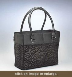 Concealed Carry Open Top Debossed Tote by Gun Tote'n Mamas - Cheap Purses, Cheap Handbags, Cheap Bags, Handbags On Sale, Luxury Handbags, Black Handbags, Purses And Handbags, Leather Handbags, Luxury Purses