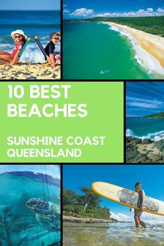 10 BEST SUNSHINE COAST BEACHES. In a Queensland area blessed with dazzling blue coastline and long sandy beaches picking the 10 best Sunshine Coast beaches is never going to be easy.