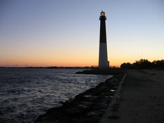 The Barnegat Lighthouse in the Barnegat Bay region of the coastal route. Courtesy of Flickr/Creative Commons