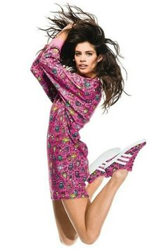 Sara Sampaio / Adidas Originals by Jeremy Scott
