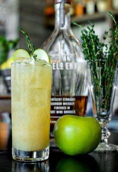 The Porkchop - Citrus Juice - Apple Cider - Angel Envy Bourbon - Dijon Mustard - Fresh Thyme
