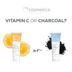 Vitamin C or Charcoal? #VitaminCMask