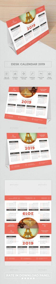 #Desk #Calendar 2019 - Calendars #Stationery Office Calendar, Calendar 2018, Desk Calendars, Buy Desk, Calendar Templates, Modern Desk, Stationery, Desktop Calendars, Stationeries