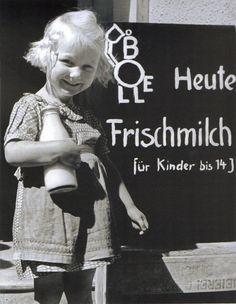 Berlin, Lebensmittelversorgung, Frühjahr 1949. Fotograf unbekannt.