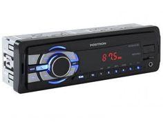 Som automotivo Pósitron SP 2210UB MP3 Player - Rádio FM Entrada USB Micro SD Auxiliar