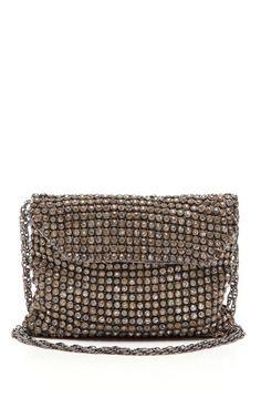 Shop French Rhinestone Handbag by New York Vintage for Preorder on Moda Operandi