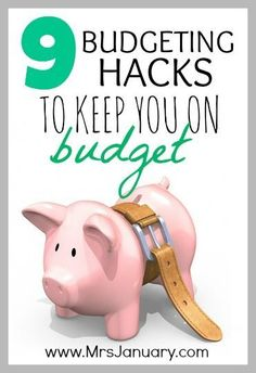 Need help keeping your budget on track? You MUST read this article! It's packed full of information for keeping you on budget.