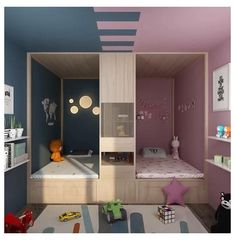 3D blueprints are useful for room interior ideas #indian #kids #room #interior #design #indiankidsroominteriordesign Small Room Design Bedroom, Small House Interior Design, Kids Bedroom Designs, Bedroom Furniture Design, Room Ideas Bedroom, Home Room Design, Kids Room Design, Diy Bedroom Decor, Bedroom Ideas For Small Rooms For Girls