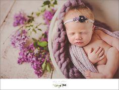 hair flowers, braided wraps, purple wraps, bundled, newborns, Twig and Olive Newborn photography