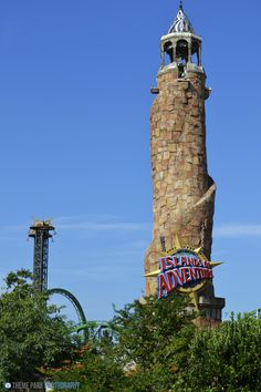 The entrance to Islands Of Adventure