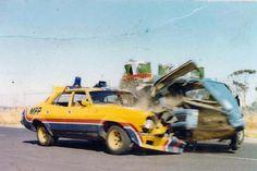 Mad Max MFP Pursuit Vehicle crash.